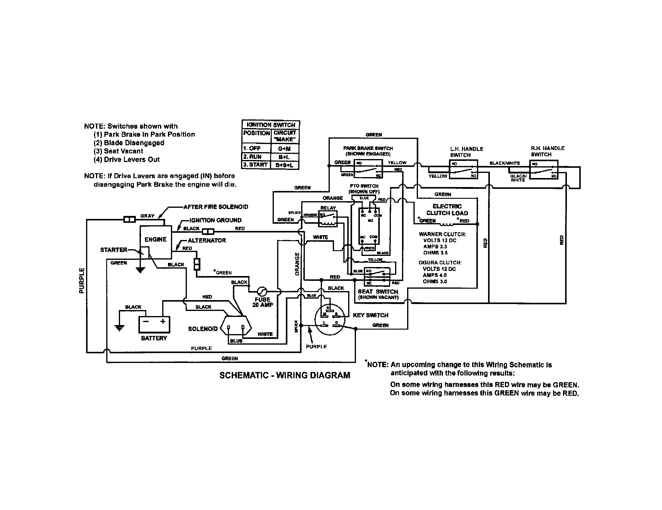Solenoid Wiring Diagram Snapper Sr1433 Mower