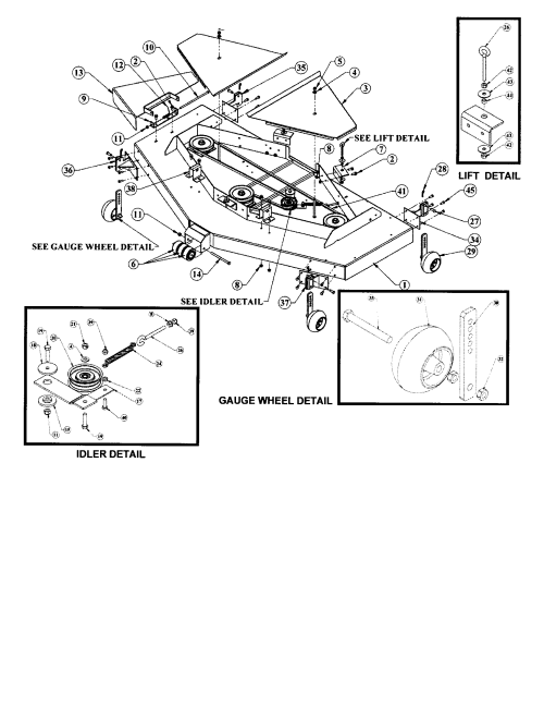 small resolution of scott s1642 lawn tractor wiring diagram