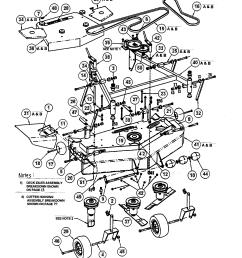 snapper sp320 48 52 mower deck diagram [ 1696 x 2200 Pixel ]