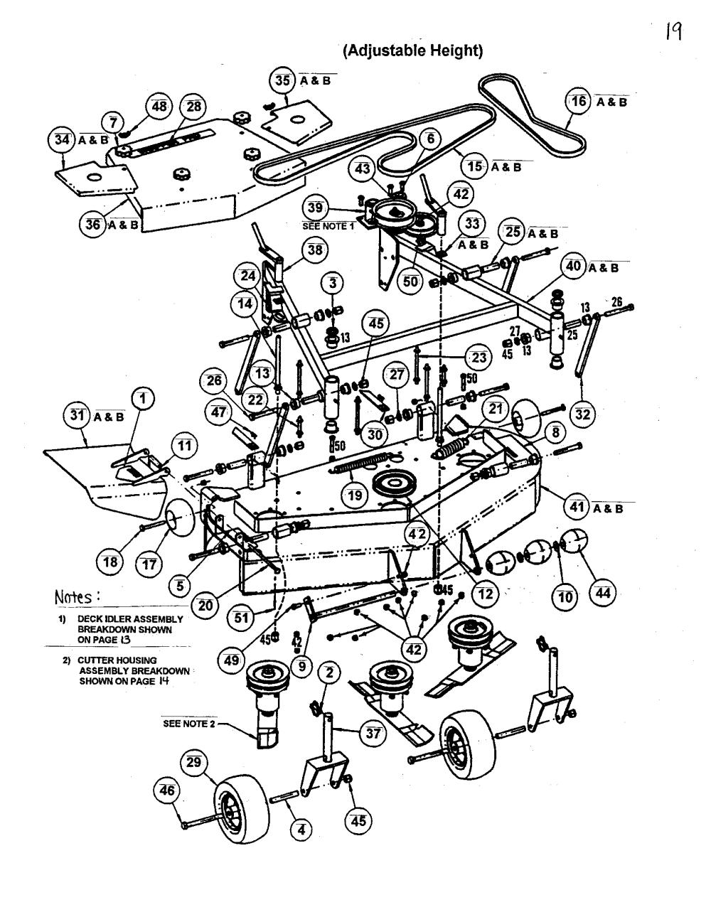 medium resolution of snapper sp320 48 52 mower deck diagram