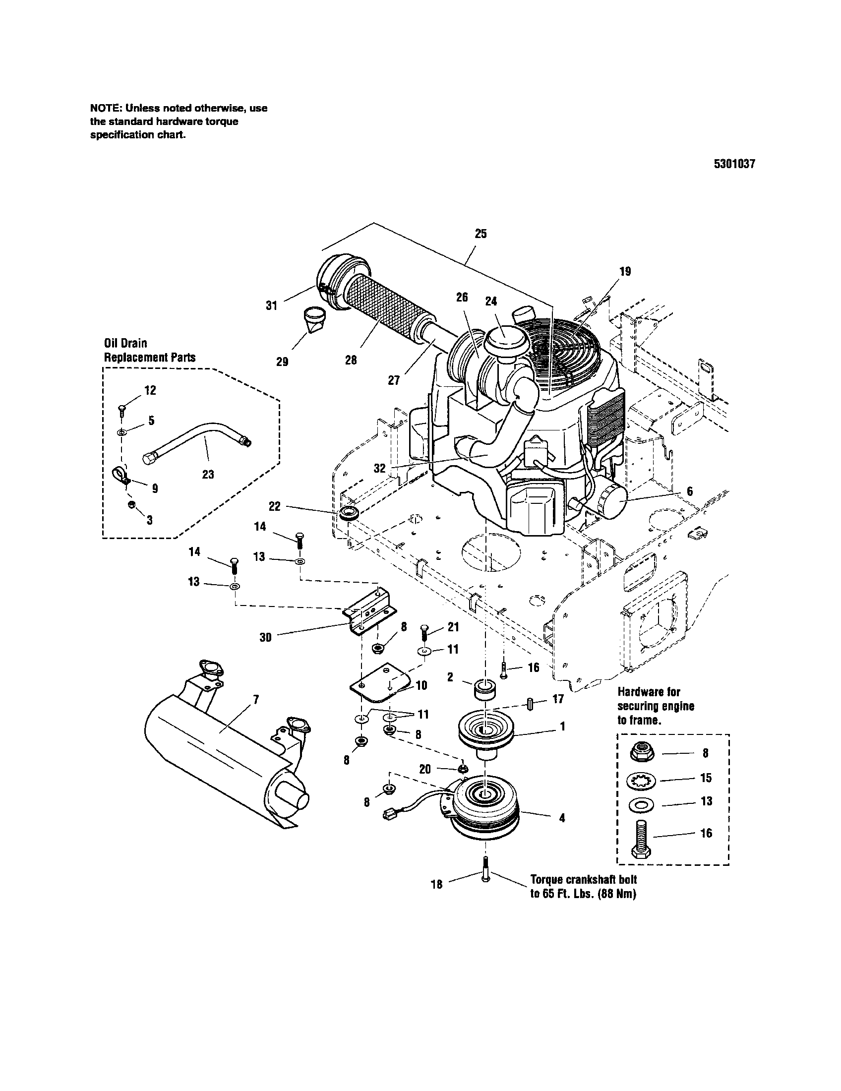 snapper 5900693 engine pto 27 hp kohler diagram [ 1696 x 2200 Pixel ]