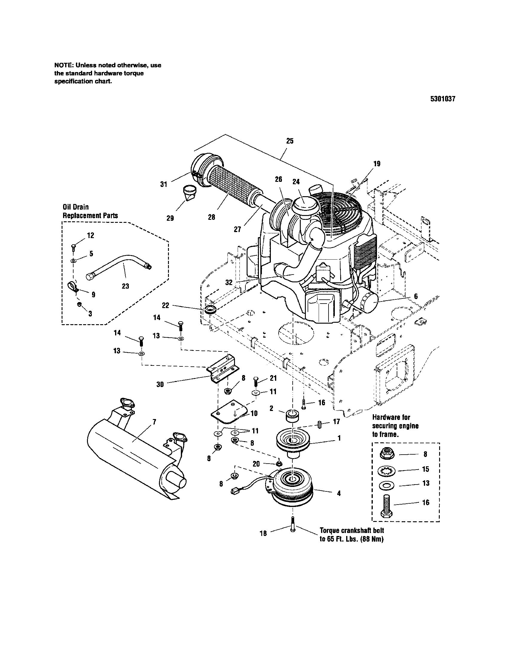 medium resolution of snapper 5900693 engine pto 27 hp kohler diagram