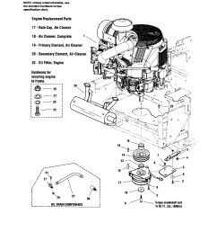 snapper zero turn riding mower parts model 5900692 sears partsdirect rh searspartsdirect com briggs and stratton lawn mower engine diagram names briggs and  [ 1696 x 2200 Pixel ]