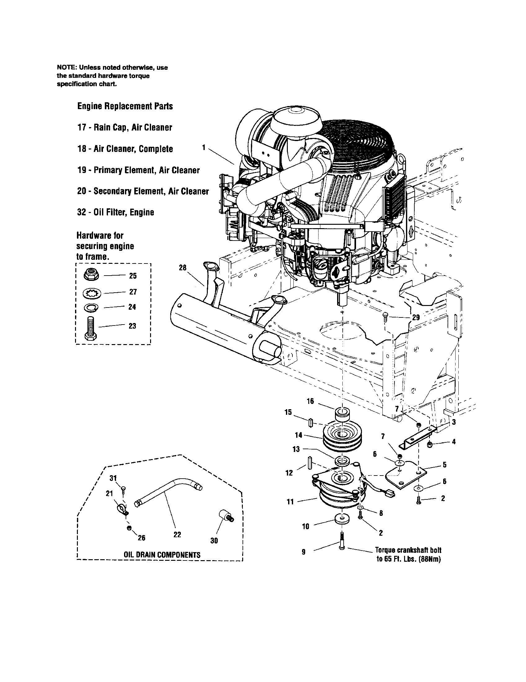 hight resolution of snapper zero turn riding mower parts model 5900692 sears partsdirect rh searspartsdirect com briggs and stratton lawn mower engine diagram names briggs and