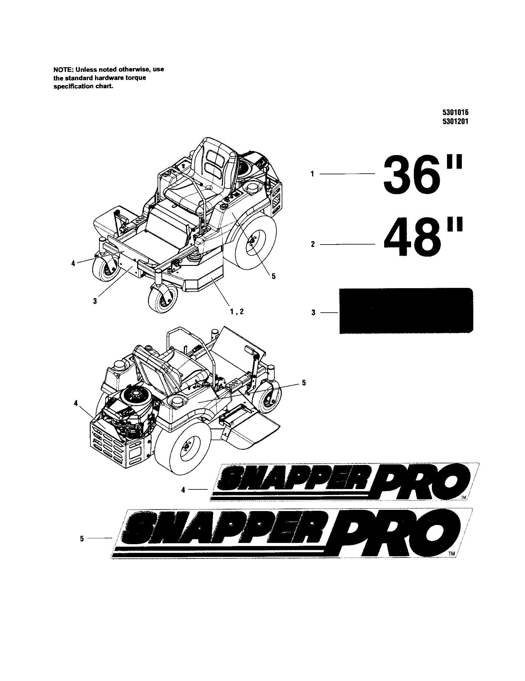 snapper zeroturn riding mower s50x series model 5900743