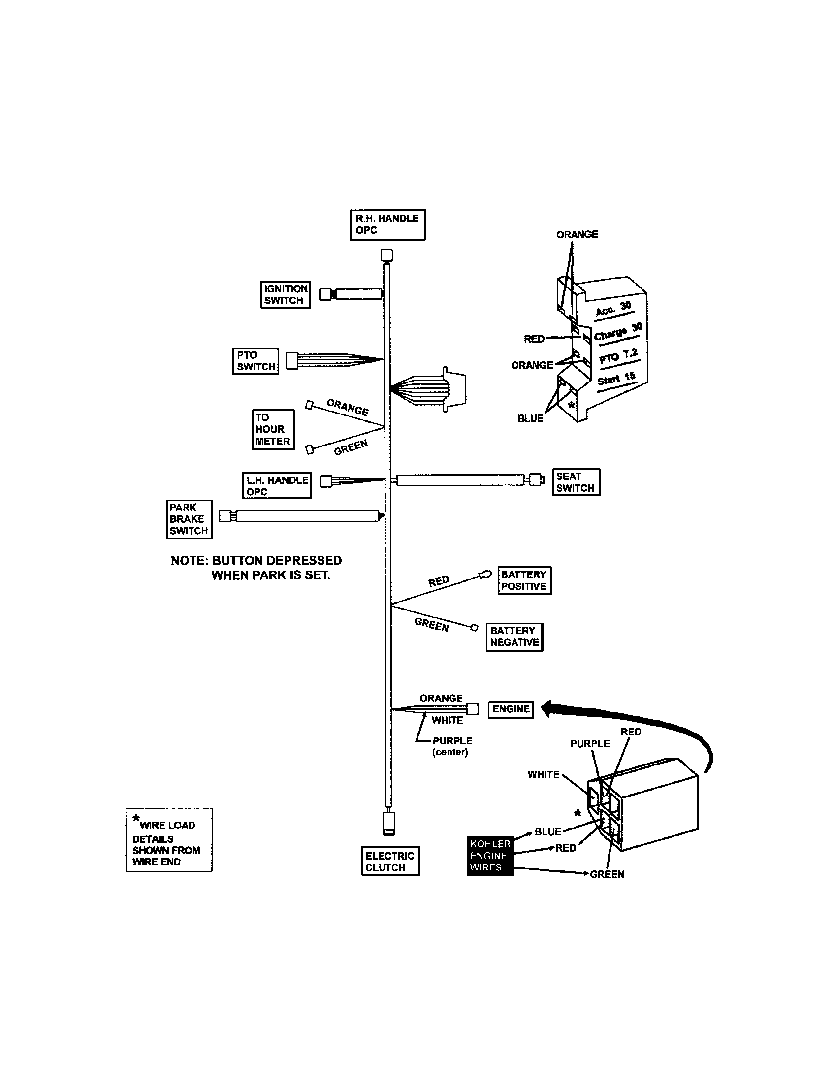hight resolution of snapper nzm21520kwv wiring harness kohler engines diagram