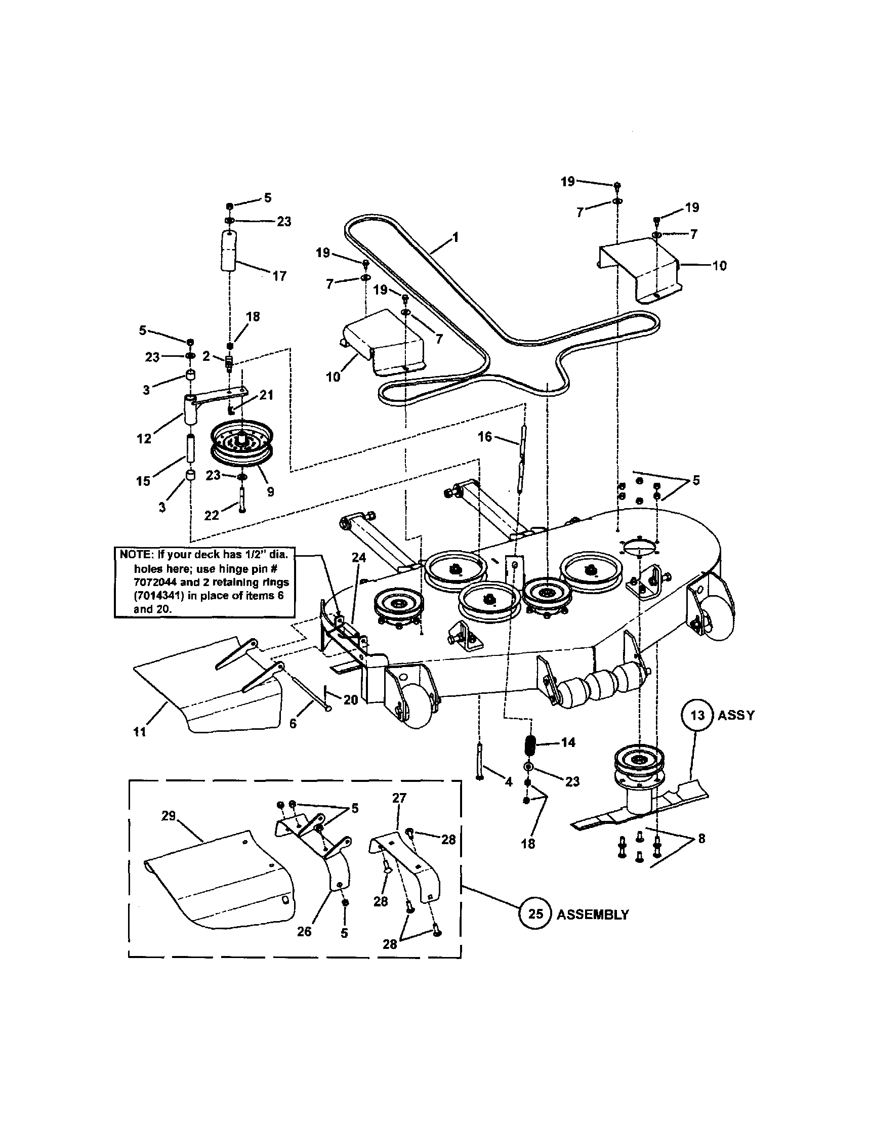 hight resolution of lesco part diagram