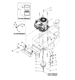 air filter fuel pump diagram and parts list for briggs stratton all engine pto24 hp briggs [ 1696 x 2200 Pixel ]