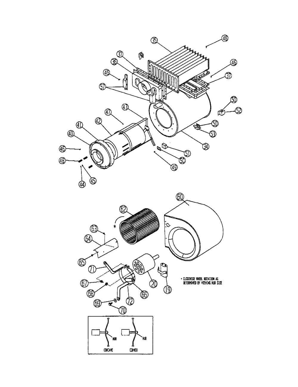 medium resolution of ducane furnace parts images