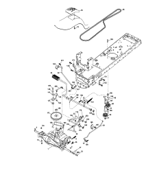 lt 1500 craftsman riding lawn mower belt diagram image [ 1731 x 2228 Pixel ]