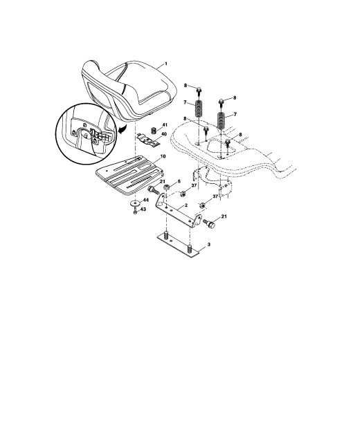 small resolution of craftsman 917288280 seat diagram