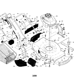 craftsman 917374361 handle engine housing diagram [ 2200 x 1696 Pixel ]