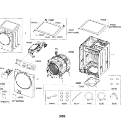 Front Load Washer Parts Diagram Signal Light Flasher Wiring Samsung Model Wf448aapxac Sears Partsdirect