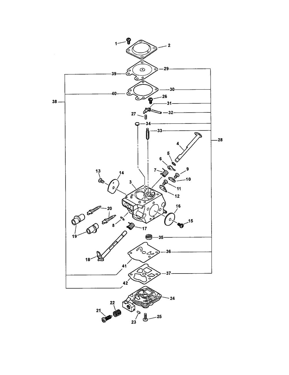 medium resolution of echo cs 400 carburetor wt 820 diagram