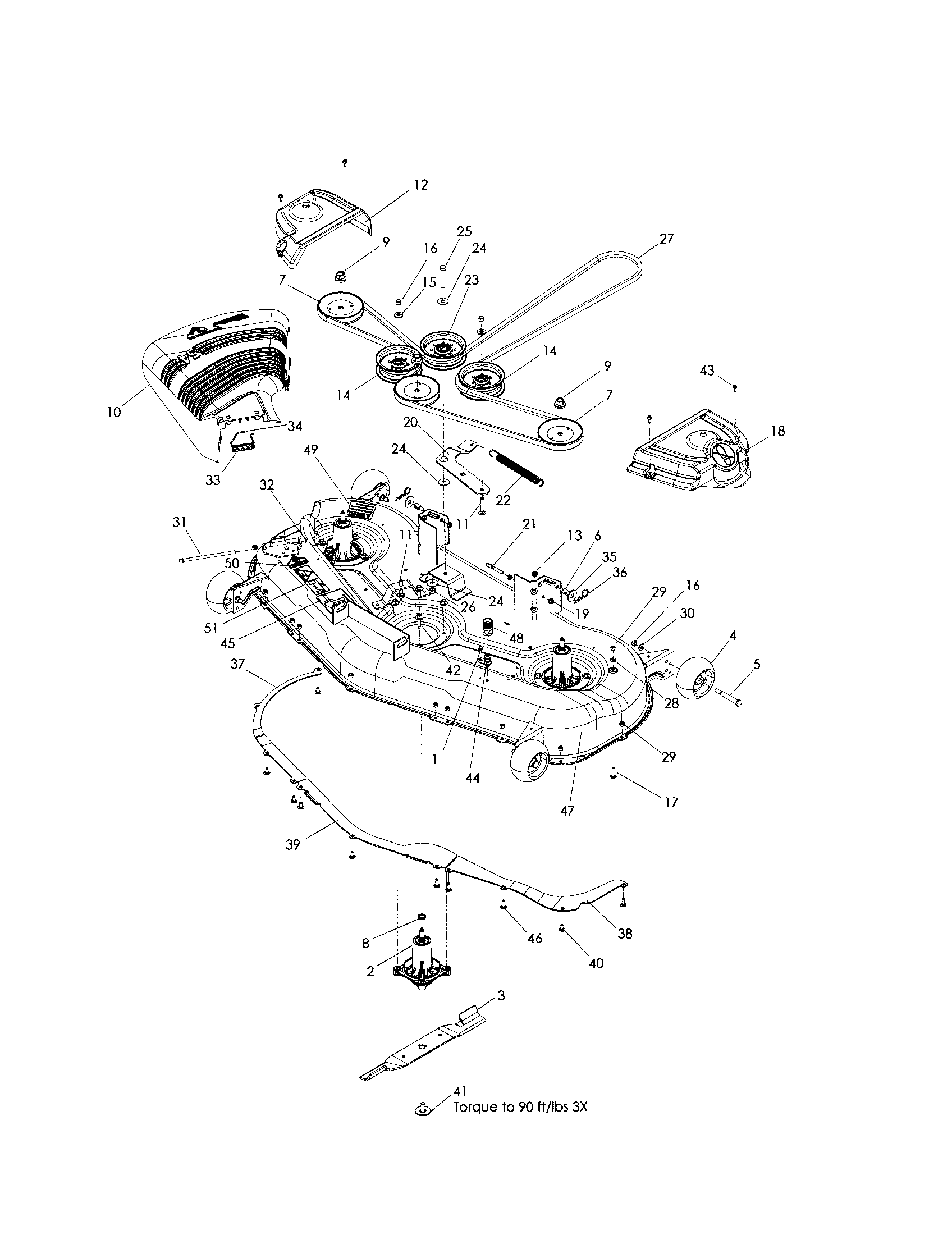 Husqvarna 54 Mower Deck Diagram Wiring Schematic