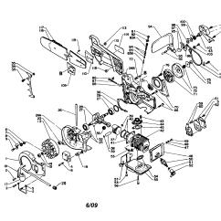 Echo Pole Saw Parts Diagram Polaris Wiring Sportsman 500 Chainsaw Model Cs 400evl Gas Genuine