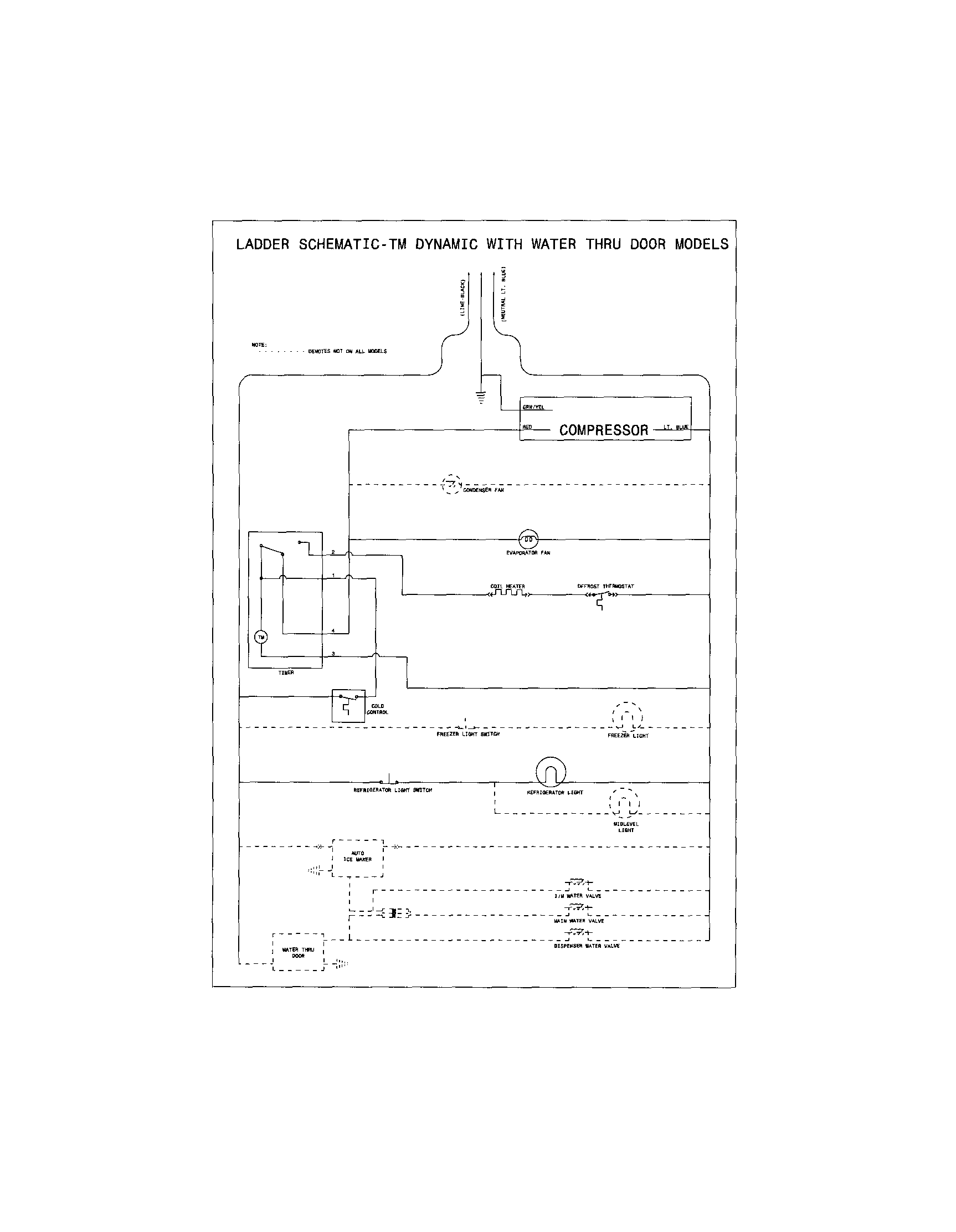 hight resolution of kenmore refrigerator compressor wiring diagram