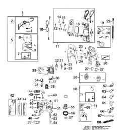 bissell model 9200 power steamer genuine parts schematics diagrams electrolux vacuum bissell vacuum cleaner wiring diagram [ 1696 x 2200 Pixel ]