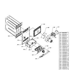 Goodman Furnace Parts Diagram Volt Drop Formula Heat Exchanger Gas Valve Manifold And List For