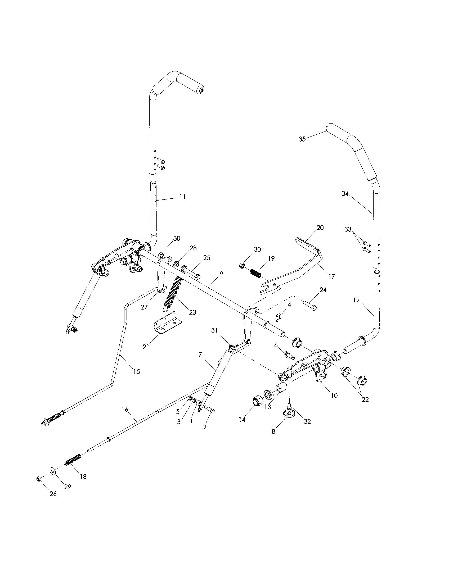 husqvarna yth2348 wiring diagram [ 1696 x 2200 Pixel ]