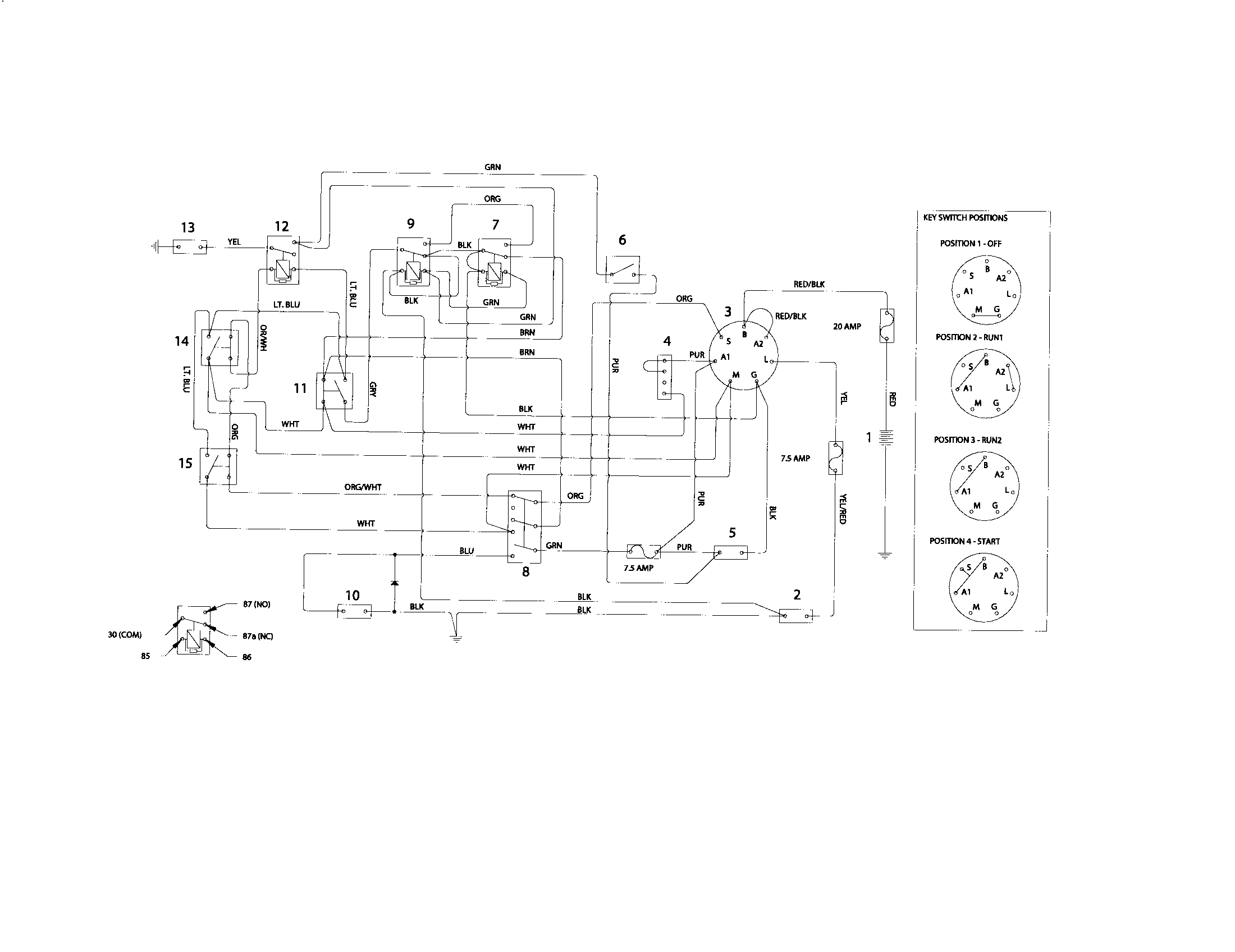 small resolution of looking for husqvarna model z5426 968999508 rear engine riding mowerhusqvarna z5426 968999508 schematic diagram diagram