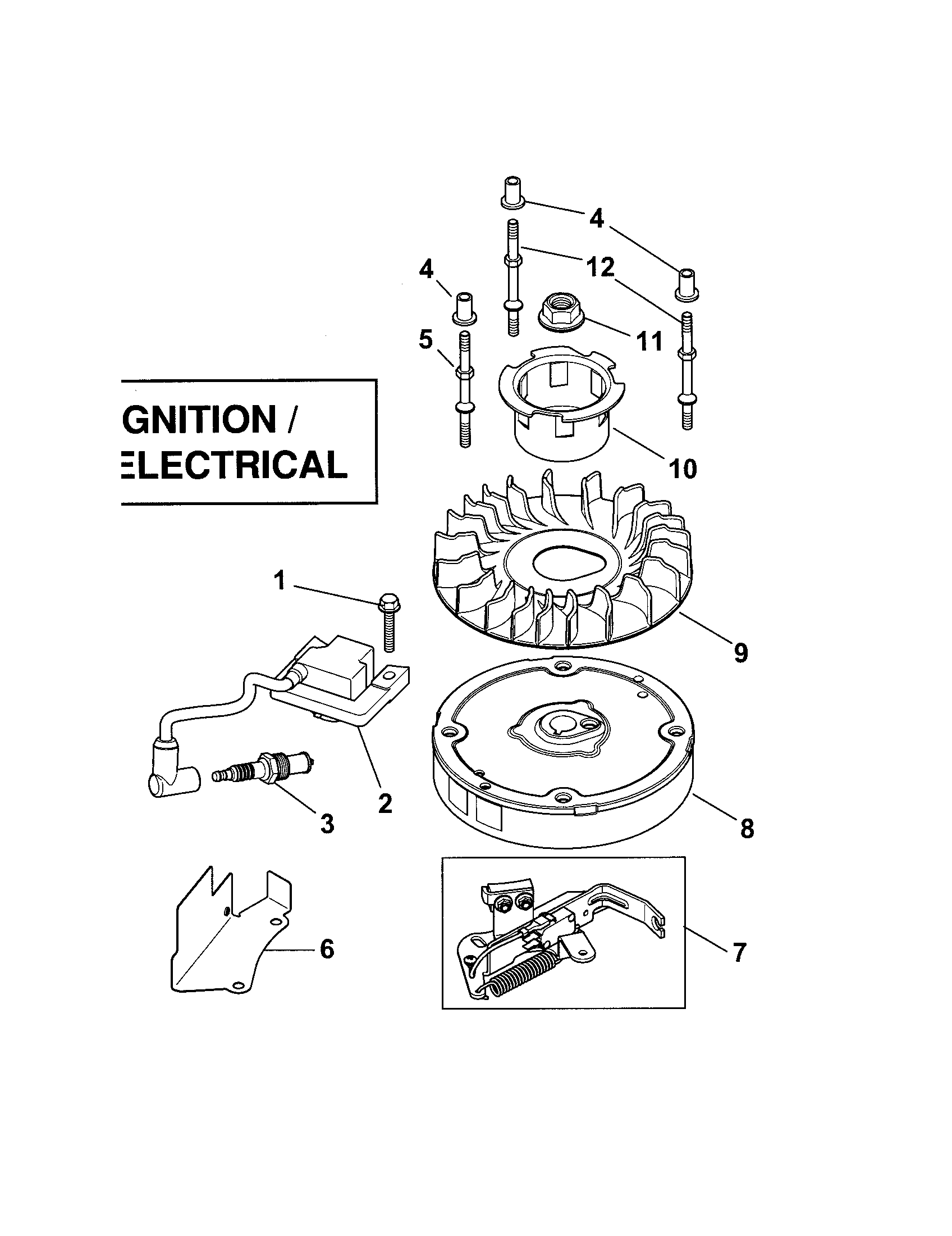 Kohler Xt 7 Engine Electrical Diagram