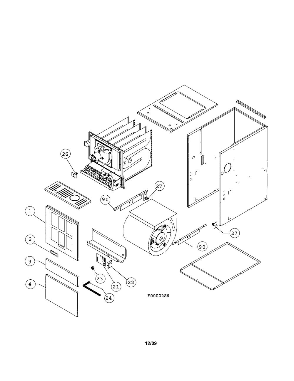 medium resolution of images of ducane furnace parts