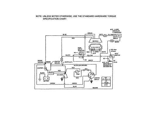 small resolution of mower battery charging wiring diagram