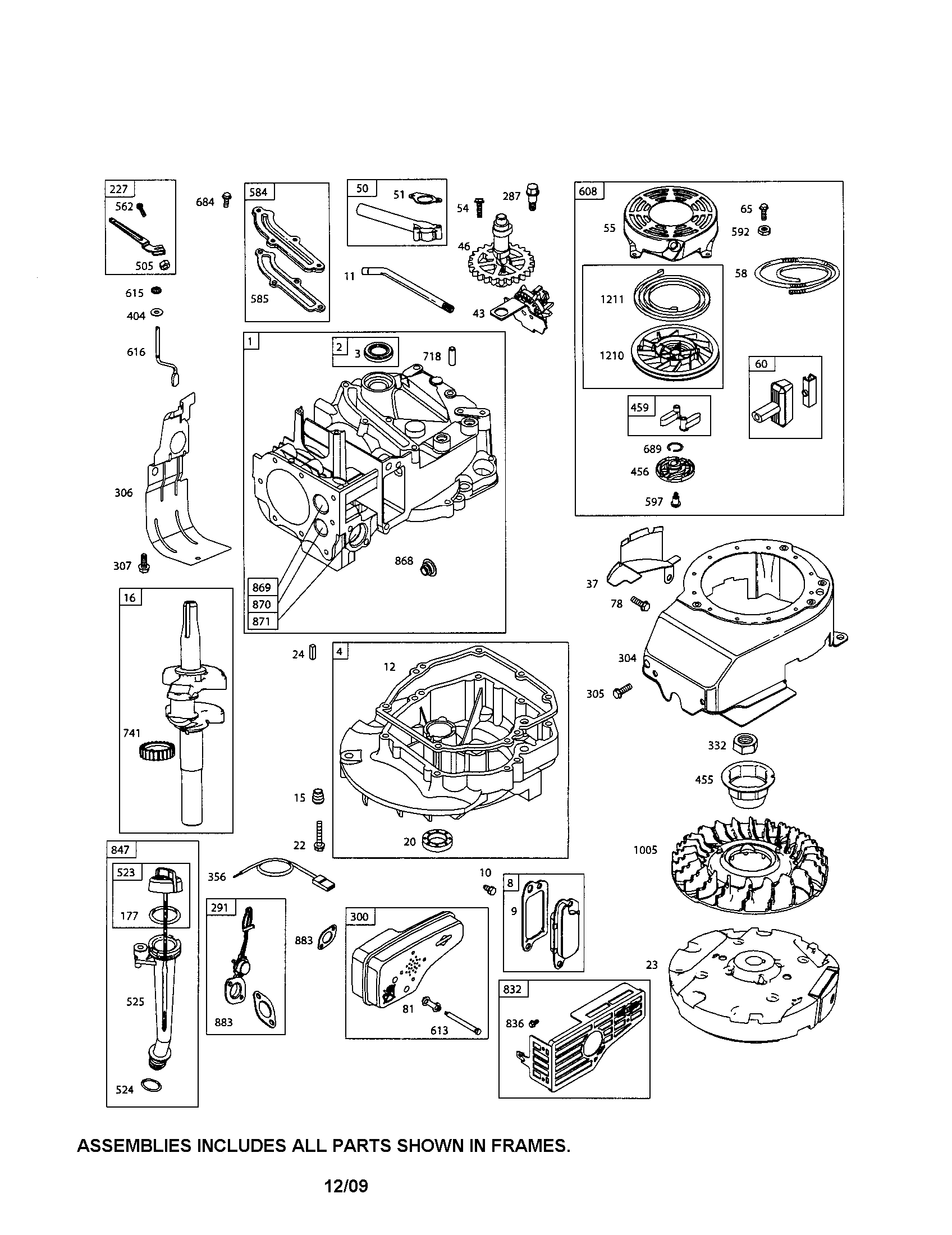 Briggs And Stratton Engine Number Location