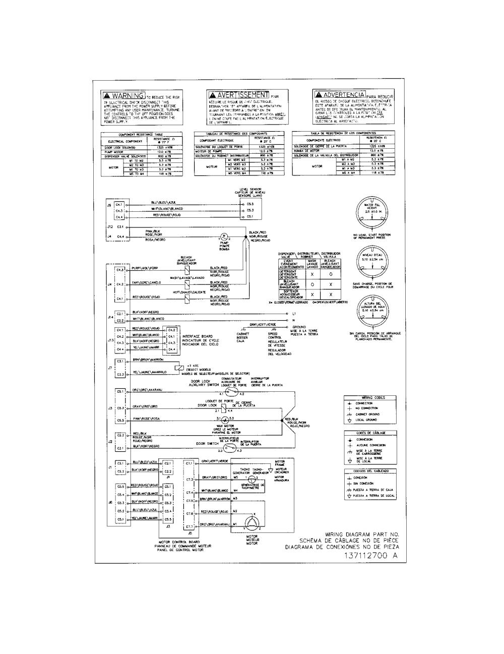 medium resolution of frigidaire model fafw3574kr0 residential washers genuine parts rh searspartsdirect com kenmore washing machine wiring diagram samsung