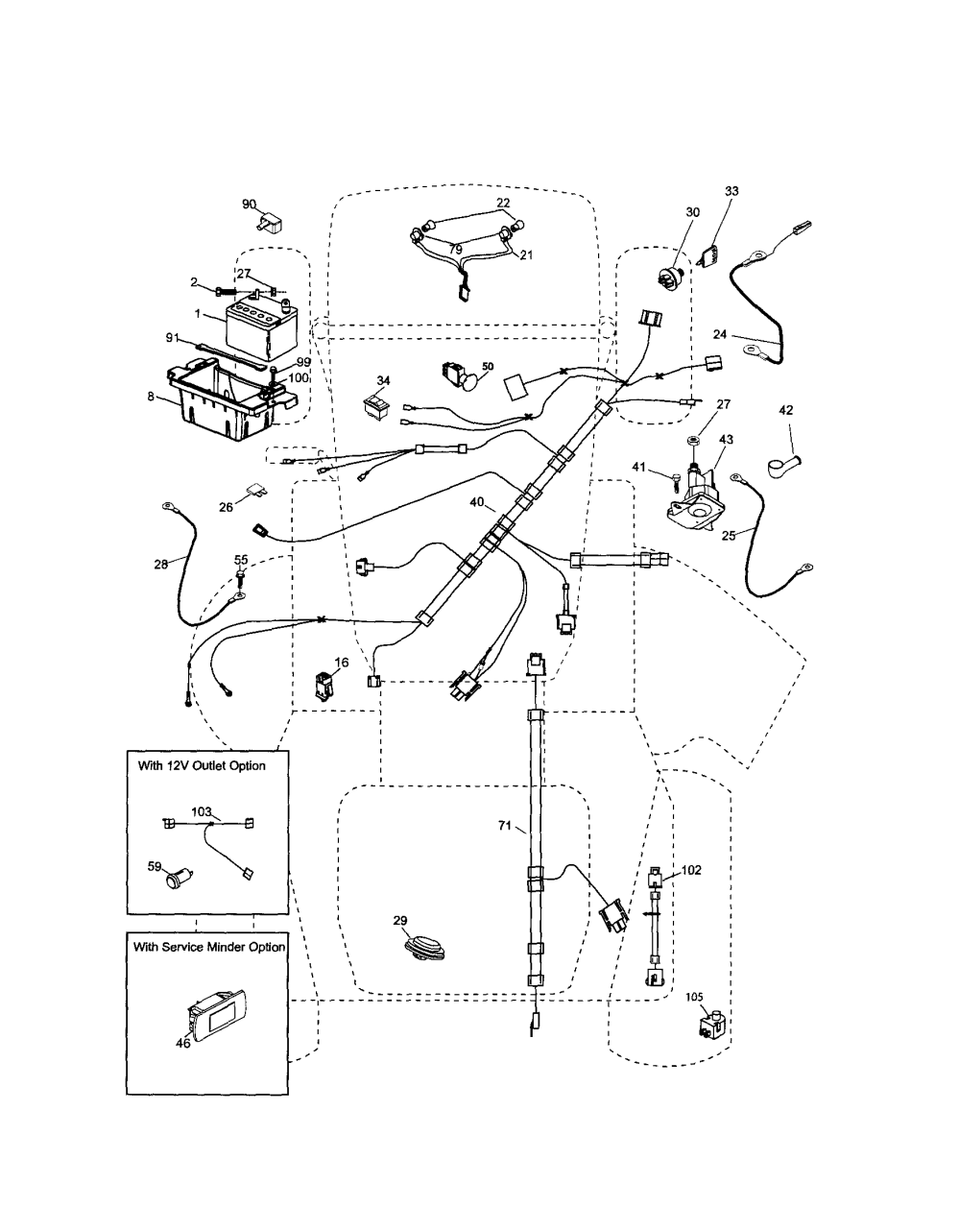 medium resolution of husqvarna 917289570 electrical diagram electrical husqvarna 917289570 engine diagram