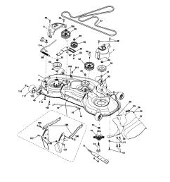 husqvarna yth2348 917289570 mower deck diagram [ 1696 x 2200 Pixel ]