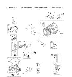 briggs stratton 331777 1372 b2 cylinder crankshaft crankcase diagram [ 1742 x 2236 Pixel ]