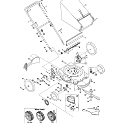 Mtd Lawn Mower Parts Diagram Sony Cdx Gt240 Wiring Model 11a 544a020 Sears Partsdirect