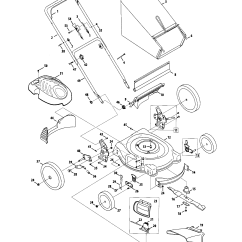 Mtd Lawn Mower Parts Diagram Suzuki Sx4 Wiring Model 54m7 Sears Partsdirect