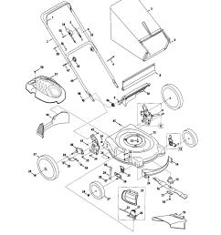 mtd model 54m7 walk behind lawnmower gas genuine parts rh searspartsdirect com mtd parts manual mtd [ 1696 x 2200 Pixel ]
