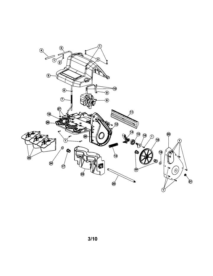 Model 247880870 | CRAFTSMAN SNOW THROWER Parts