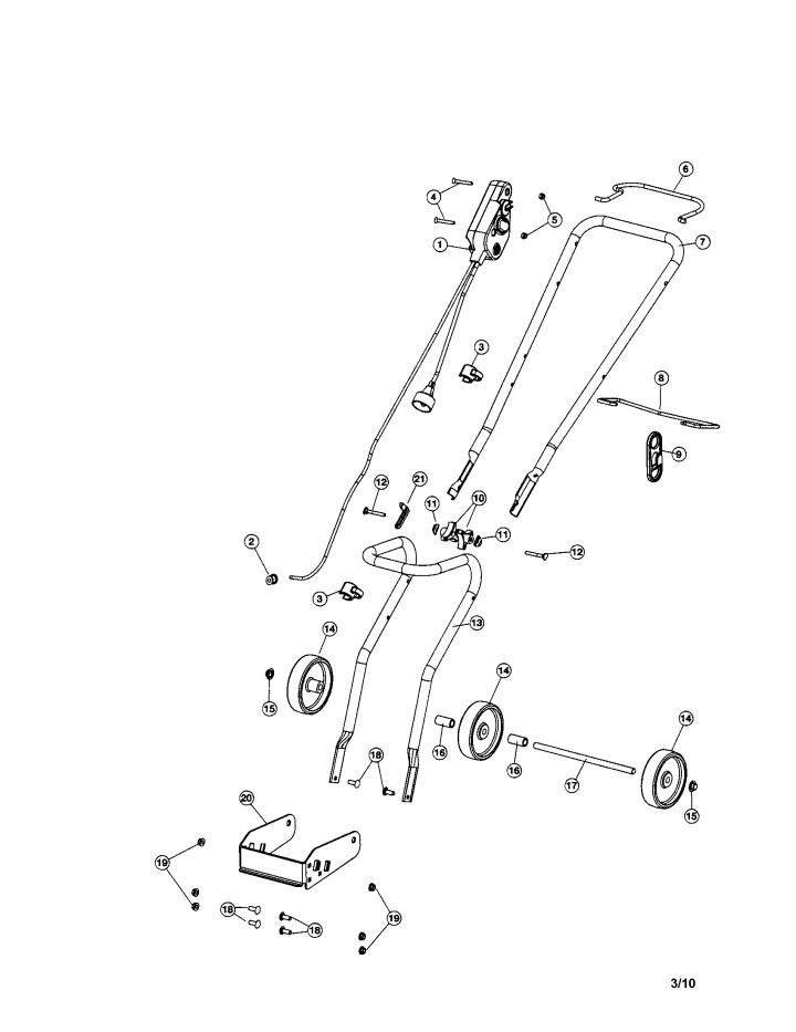 Model 247880871   CRAFTSMAN SNOW THROWER Parts