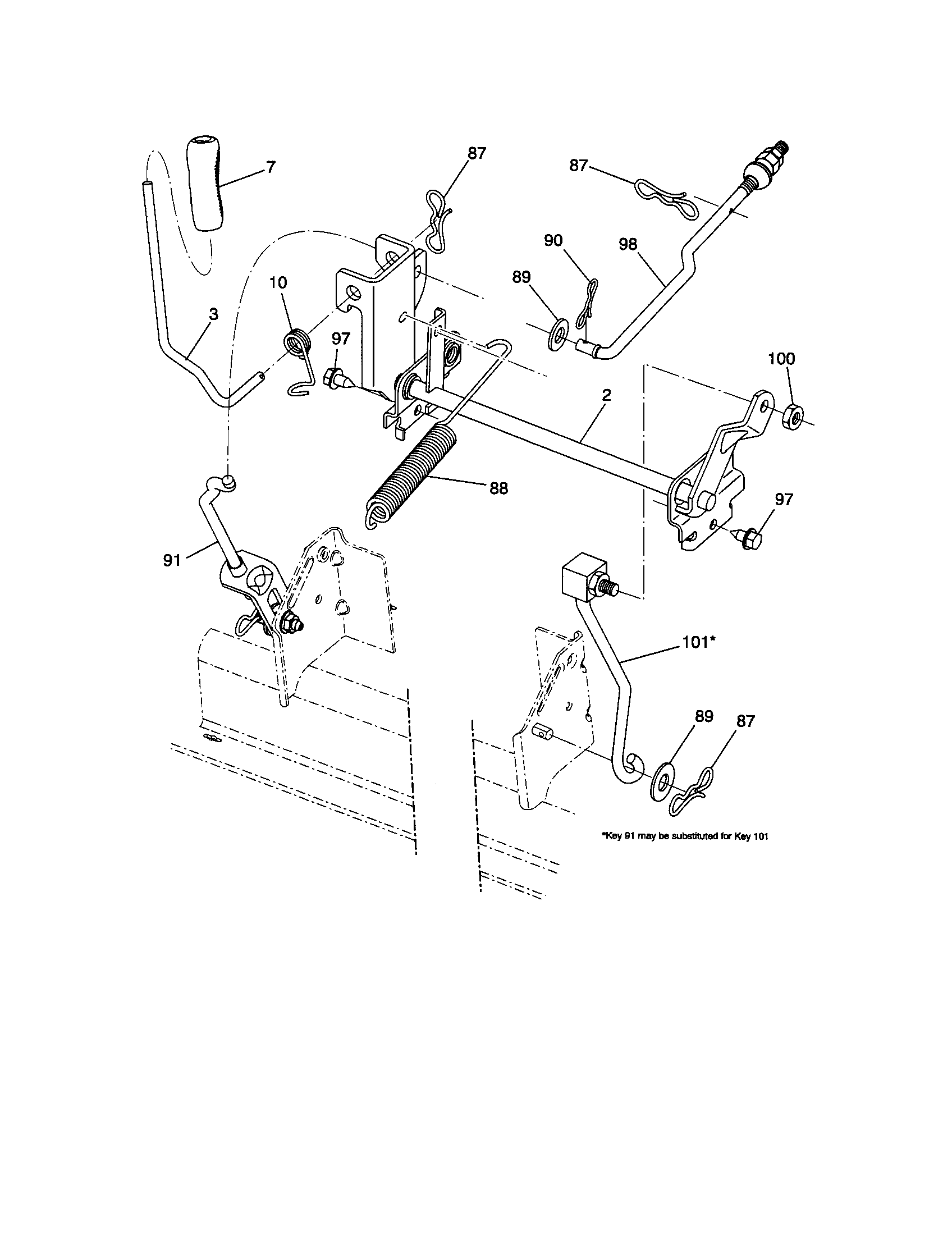 hight resolution of craftsman 917289344 lift diagram