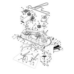Craftsman Lawn Tractor Parts Diagram 2001 Chevy Blazer Ls Radio Wiring Mower Part Riding