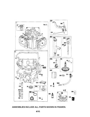 BRIGGS & STRATTON ENGINE Parts | Model 44p7770790b1