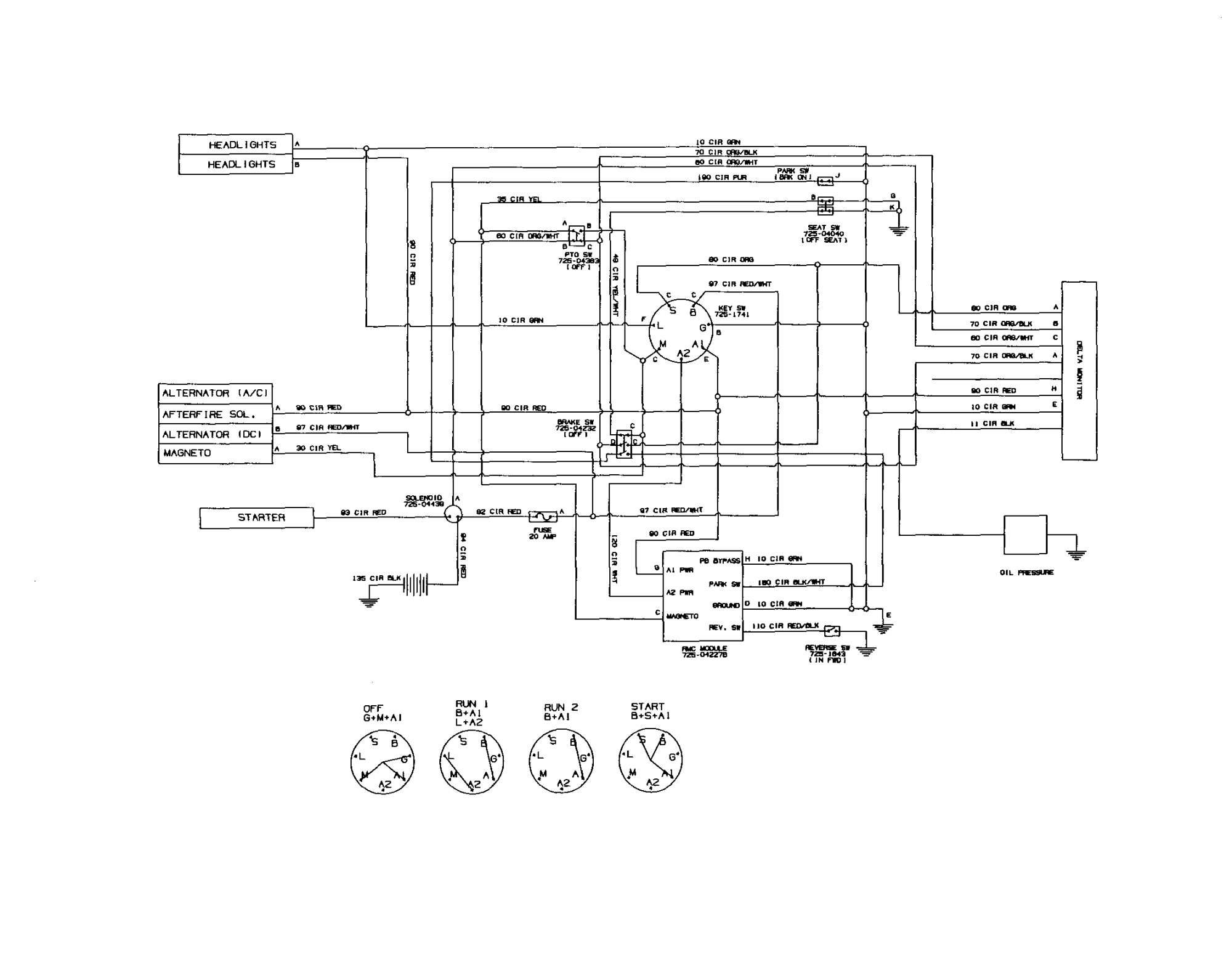 hight resolution of international cub tractor headlight wiring diagram