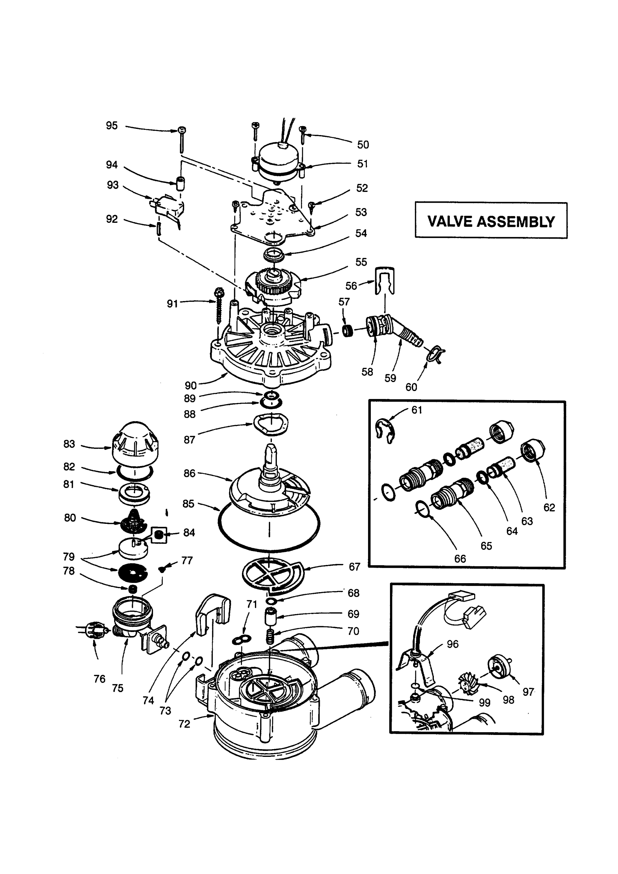 hight resolution of kenmore 625348591 valve assembly diagram