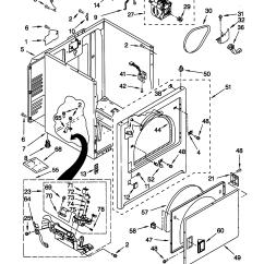 Kenmore Gas Dryer Parts Diagram Energy Meter Wiring Cabinet Model 11076712695