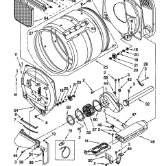Sears Dryer Wiring Diagram 2001 Mitsubishi Galant Car Stereo Radio 12 Yr Old Kenmore Electric Where Is The Thermal Fuse