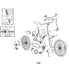 Bike Parts Diagram Race Car Alternator Wiring Roadmaster Bicycle Model 4841sr Sears Partsdirect