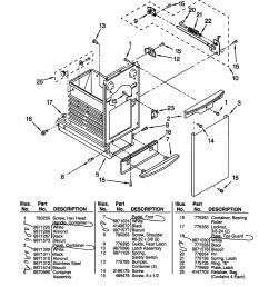 kitchenaid kucc151ebl0 container diagram [ 1696 x 2200 Pixel ]