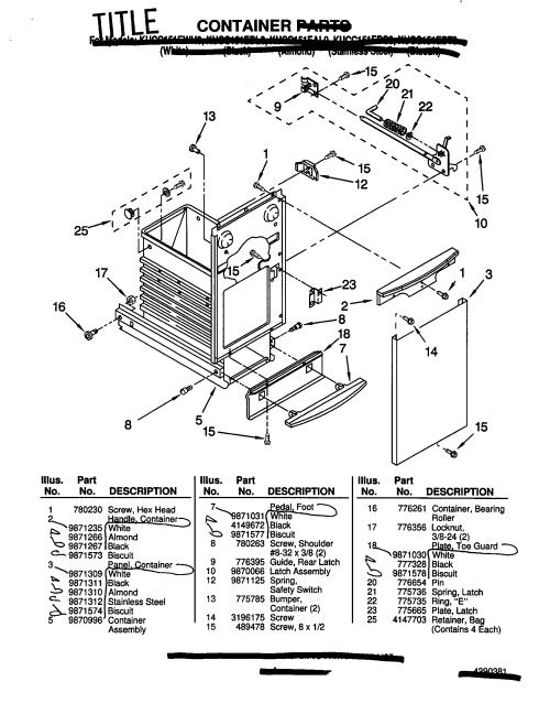 small resolution of kitchenaid kucc151ebl0 container diagram