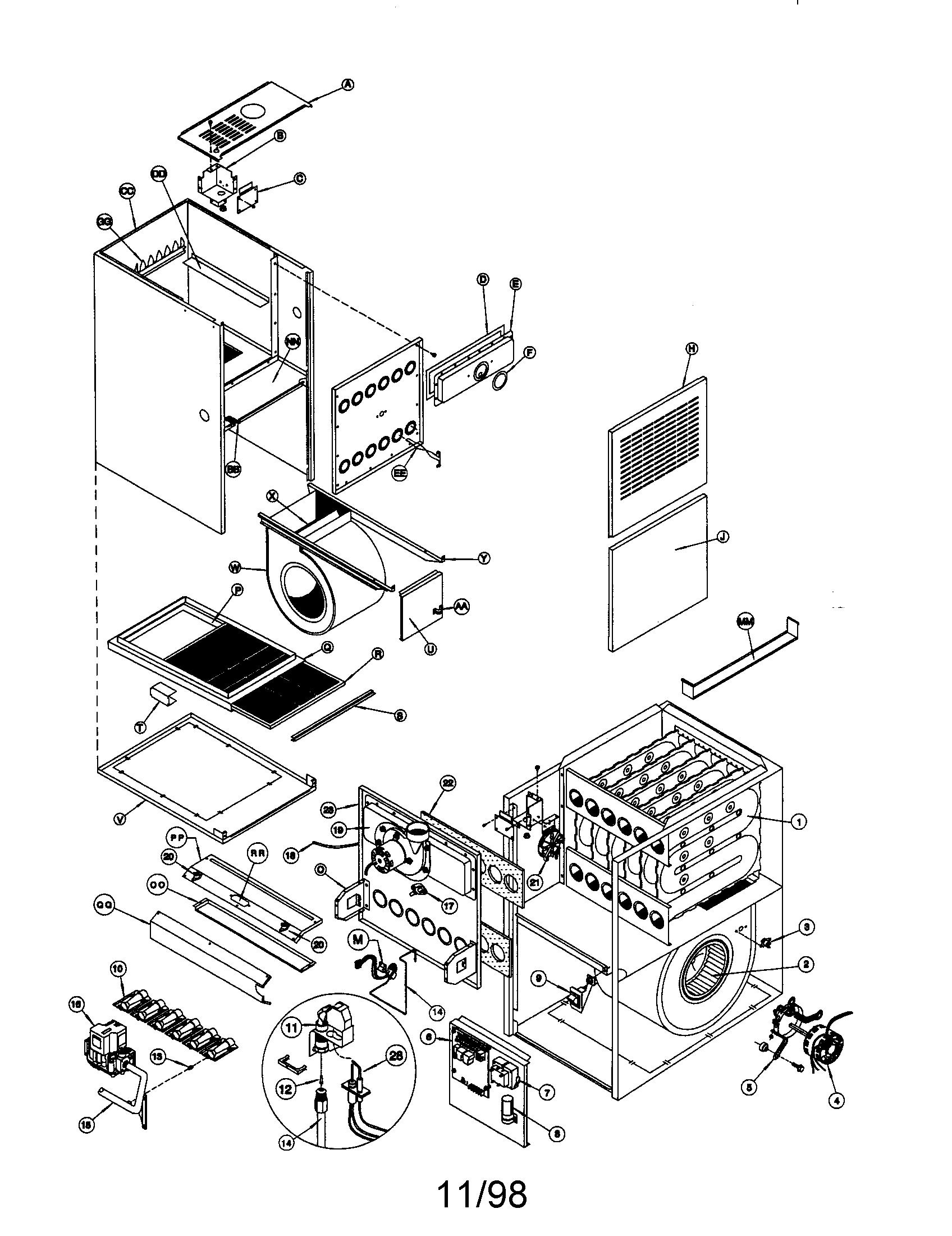 tempstar wiring diagram furnace raspberry pi 2 icp gas parts model ntc6125kja1 sears partsdirect