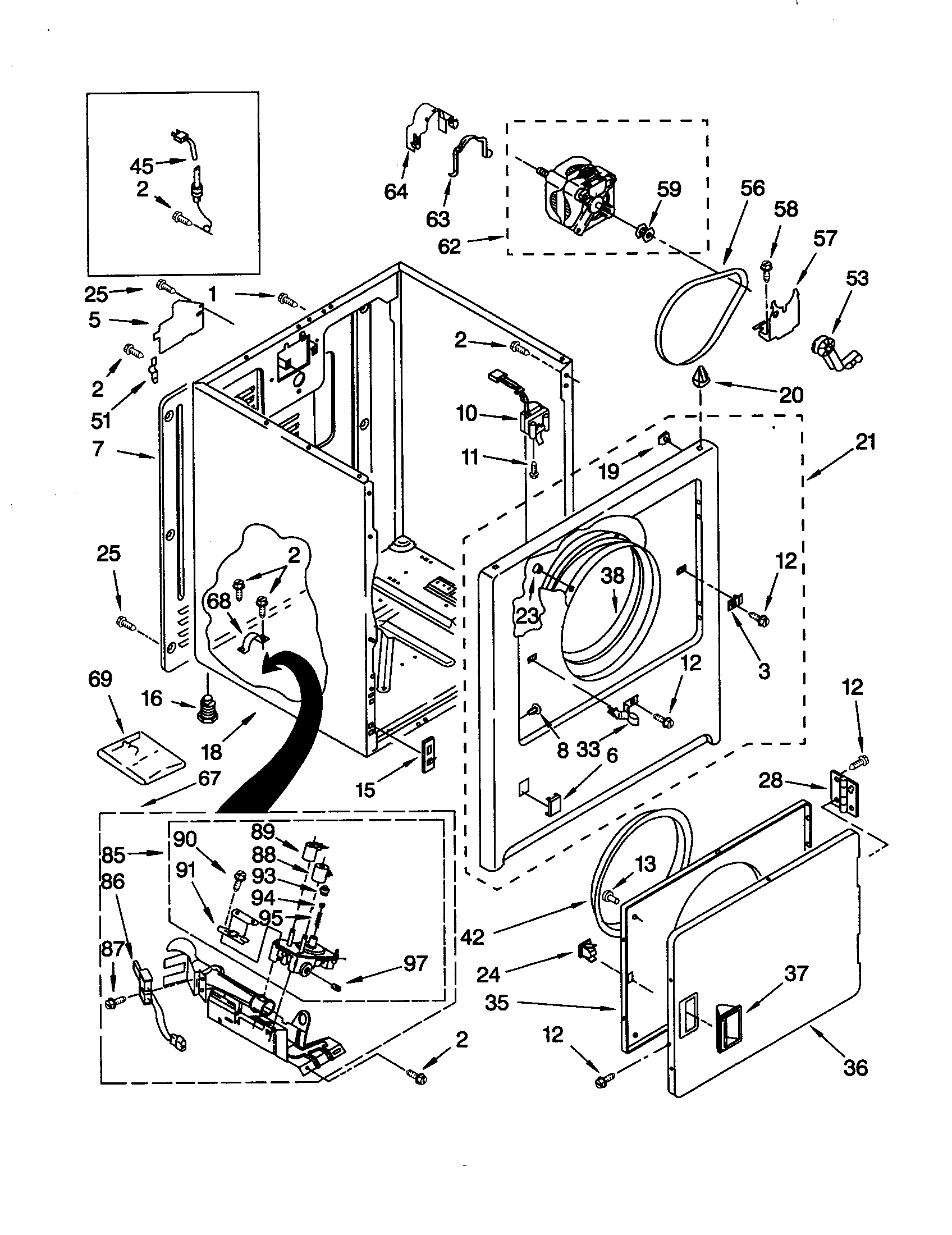 Sears Trash Compactor Wiring Diagram Explained Diagrams Kitchenaid Parts Drive Intertherm